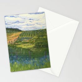 Summer Day on Dry Hill Stationery Cards