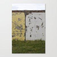 tetris Canvas Prints featuring tetris by Jan Luzar
