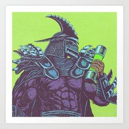 Super Shredder Art Print