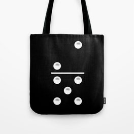 Black Domino / Domino Negro Tote Bag