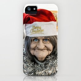 Christmas Grandma iPhone Case