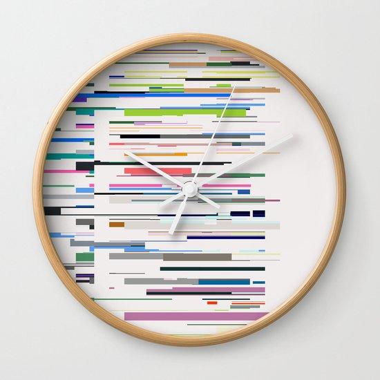 Speed of Light Wall Clock