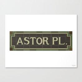 Astor Place Canvas Print