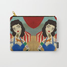 Tattooed Lady Carry-All Pouch