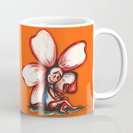 """Self Examination"" Flowerkid Coffee Mug"
