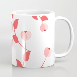 Pink floral fantasy Coffee Mug