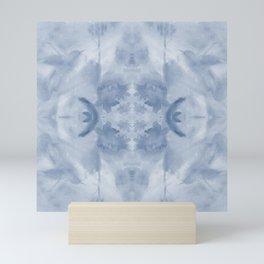 Hummingbird Selah - Blue Quad Mini Art Print