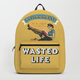 Do not waste your life Backpack