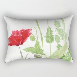 Blooms and Buds Rectangular Pillow