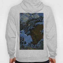 Blue reflection Hoody