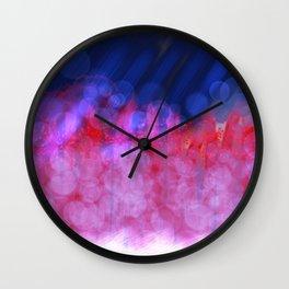 Wave Length Wall Clock