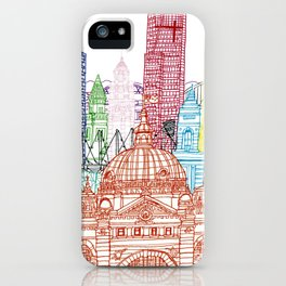 Melbourne Towers iPhone Case