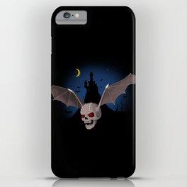 Vampium skull iPhone Case