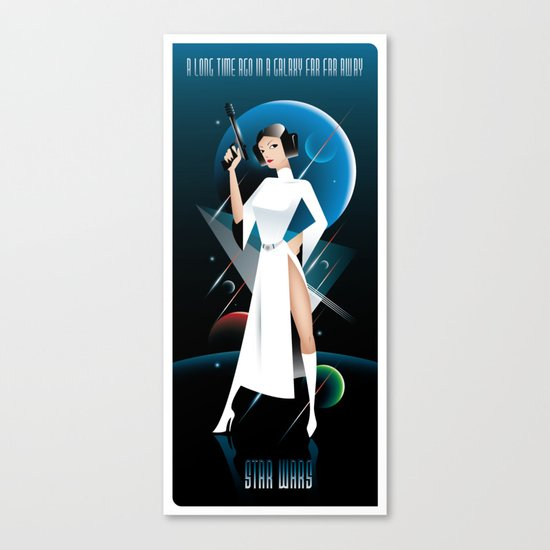Star Wars-Leia Canvas Print