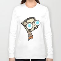 borderlands Long Sleeve T-shirts featuring Borderlands Bandit GIR by Diffro