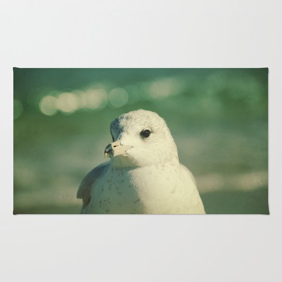 Seagull Close Up Rug
