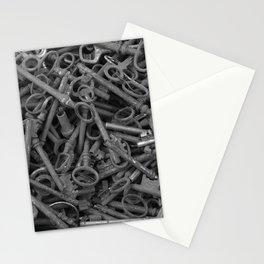 lost keys Stationery Cards