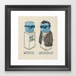Watercool Framed Art Print