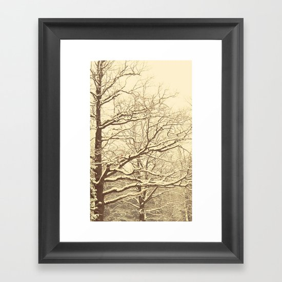Winter tale 2 Framed Art Print