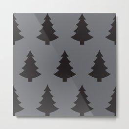 Darker trees Metal Print