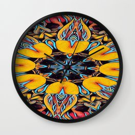 The Departed of Achilles 1 Wall Clock