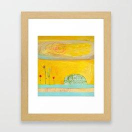 Hello Summer 2 Framed Art Print