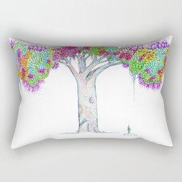 Rainbow Tree Huia Art Rectangular Pillow