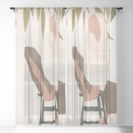 Chill Day Sheer Curtain
