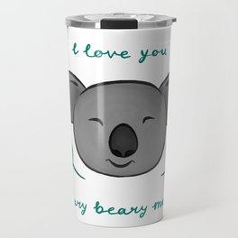 I Love You Beary Beary Much- Bluebell Ink Travel Mug