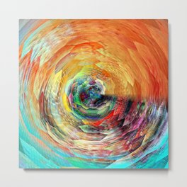 Color Zone Metal Print