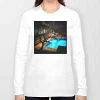 milan Long Sleeve T-shirts featuring milan pool by chicco montanari