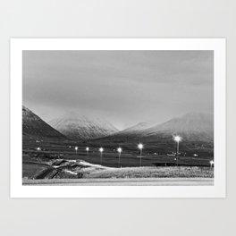 Varmahlíð Art Print