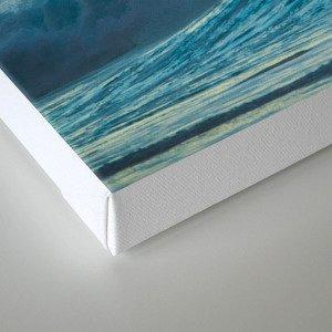 Surf on north shore Hawaii Canvas Print