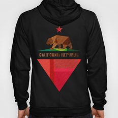 California 2 (rectangular version) Hoody