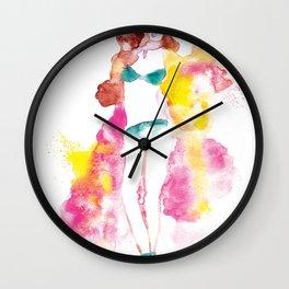 Rainbow Fashion Wall Clock