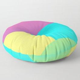 Colourful World Floor Pillow