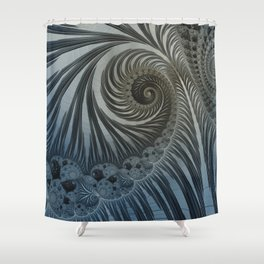 Fascinating Fractals Shower Curtain