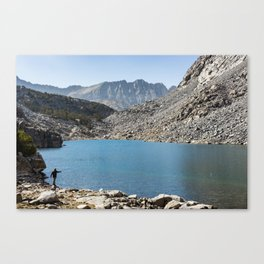 High Country Cast Canvas Print