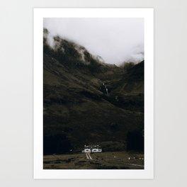 Glen Coe II / Scotland Art Print