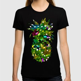 Pineapple Abstract Geometric T-shirt