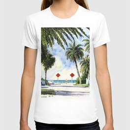 Beach Access 2, Siesta Key T-shirt