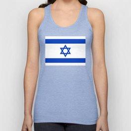 Israel Flag - High Quality image Unisex Tank Top