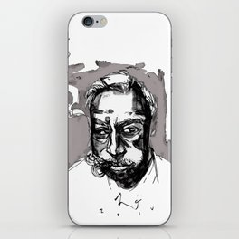 the cigarman iPhone Skin
