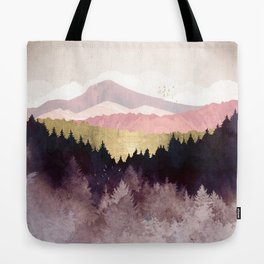 Plum Forest Tote Bag