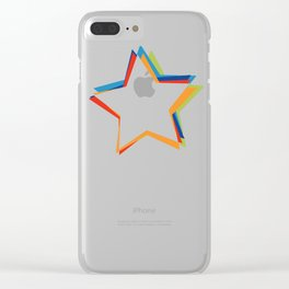 star Clear iPhone Case