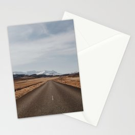 Iceland road Stationery Cards