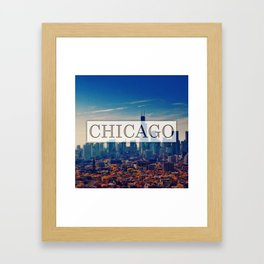 Chicago City Framed Art Print