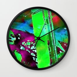 The Lady in the Window Wall Clock