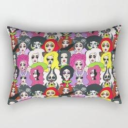 Kim Chi Pattern Rectangular Pillow