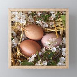 ester egg design Framed Mini Art Print